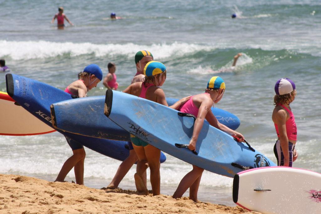 U10boys board relay handover