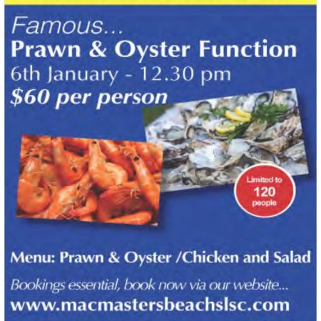 Prawn and Oyster 2018